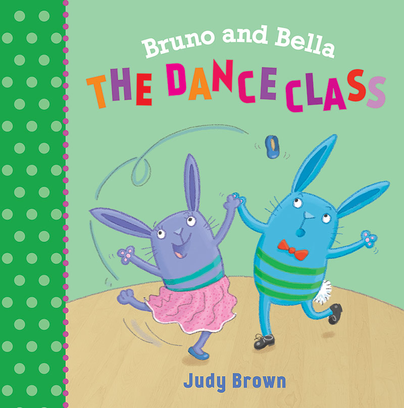 Bruno and Bella The Dance Class, Cover