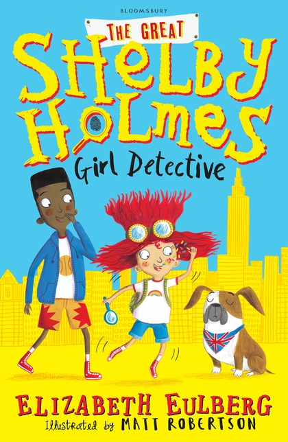 Shelby Holmes Girl Detective cover