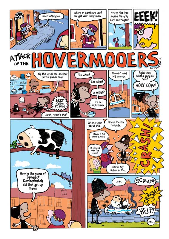 Comic Strip Hovermooers P1