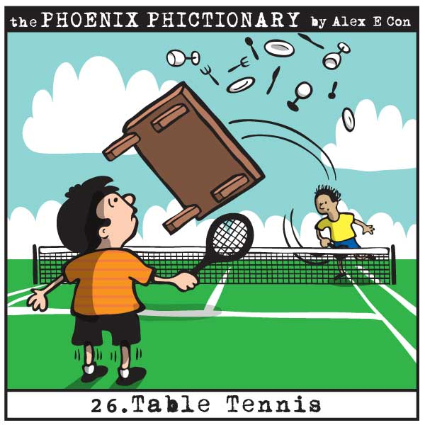 Phoenix Phictionary Table Tennis