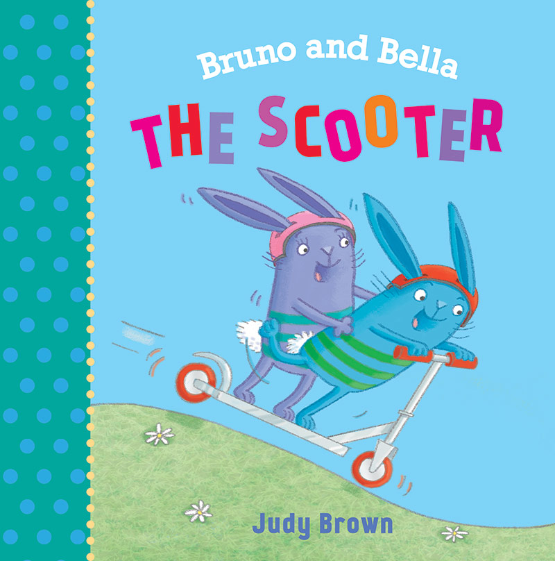 Bruno and Bella The Scooter, cover