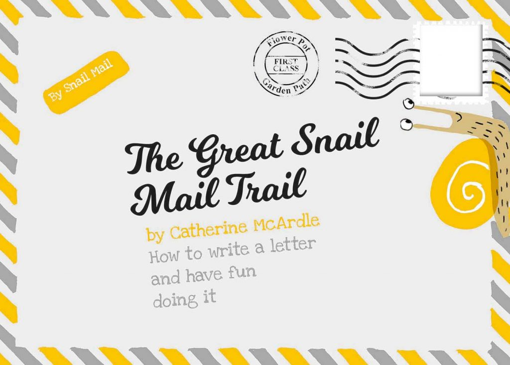The cover of The Great Snail Mail Trail